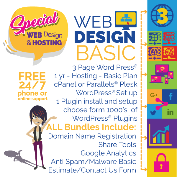 Bright Idea Graphics-webdesign-basic-3 page
