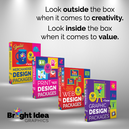 Bright Idea Graphics Web Design Packages